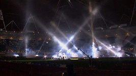 V Londýně se slavnostně otevřel olympijský stadión