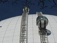 Skyview - atrakce haly Globen