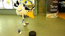 Maskot mistrovství světa v ledním hokeji