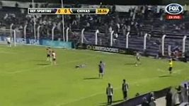 Fotbalový simulant z Jižní Ameriky
