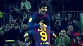 Rekordní hattrick Lionela Messiho