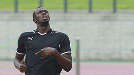 Fotbalové umění Usaina Bolta