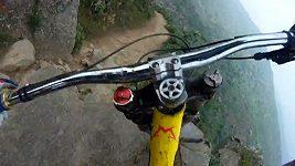 Extrémní sjezd na kole
