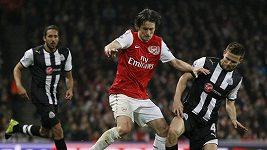 Gólové momenty zápasu Arsenal - Newcastle