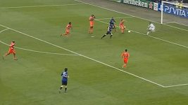 Gólové momenty zápasu Inter Milán - Marseille
