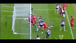 Neuznaný regulérní gól v zápase Bolton - QPR