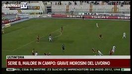Kolaps hráče Livorna Piermaria Morosiniho
