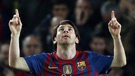 5 gólů Messiho