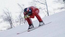 Rychlostní lyžař Radek Čermák