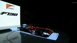 Odhalení nového monopostu Ferrari F138