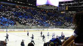 Atmosféra na utkání Slovan Bratislava - Lev Praha