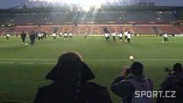 Středeční tisková konference pražské Sparty před utkáním Evropské ligy s Chelsea.