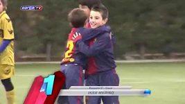 Iker, střelec Barcelony