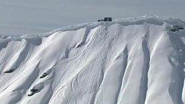 Lyžař Sverre Liliequist strhnul lavinu