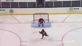 Samostatný nájezd devítiletého hokejisty