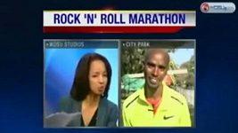 Moderátorka považovala olympijského vítěze Faraha za amatérského běžce