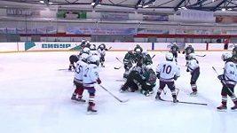 Bitka ruských hokejistek.
