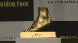 Zlatý odlitek Messiho chodidla za 5,25 miliónů dolarů