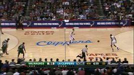 Parádní kousek v podání basketbalistů Los Angeles Clippers.