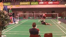 Jedinečná reakce v badmintonu