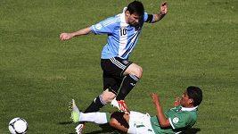 Argentinské fotbalisty trápila v Bolívii vysoká nadmořská výška
