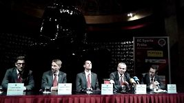 Tisková konference Sparty před duelem s Plzní