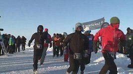 Nejstudenější maratón na světě na Severním pólu