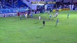 Kuriózní gól v Brazilském poháru