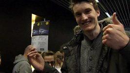 Fanoušci Borussie Dortmund čekali několik dnů ve frontě na lístky