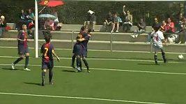 Kombinace fotbalistek Barcelony