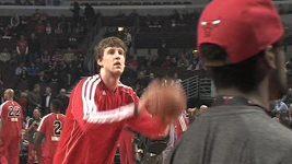Basketbalista Jan Veselý se ohlíží za skončenou sezónou.