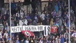 Fanoušci Levski Sofia oslavovali Hitlerovy narozeniny