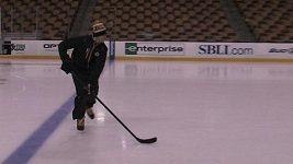Jágr mění před startem play off hokejky