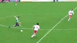 Fantastický gól z poloviny hřiště v podání Christiana Sendlhofera.
