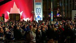 Reakce fanoušků v Torontu po vítězném gólu Bostonu