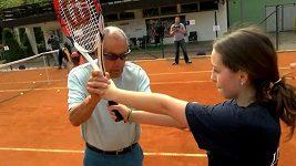 Americký trenér Bollettieri trénoval mladé tenisové nadšence