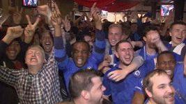 Oslavy fanoušků Chelsea