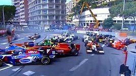 Hromadná havárie při závodu GP2 v Monaku