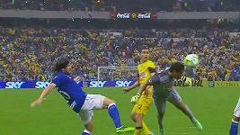 Vítězný gól brankáře Muňoze v mexické lize