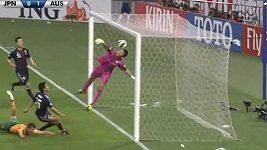Australský fotbalista místo centru vstřelil parádní gól
