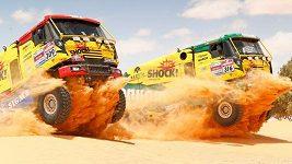 KM Racing Team v tuniské poušti