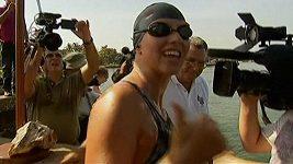 Plavkyně McCardelová se pokusila přeplavat z Kuby na Floridu