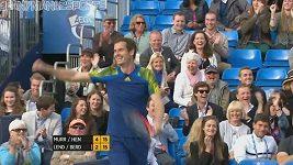 Andy Murray sestřelil Ivana Lendla
