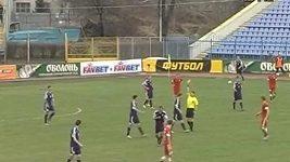 Ukrajinský hráč byl vyloučen za hlavičku spoluhráči