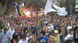 Protesty fanoušků Fenerbahce