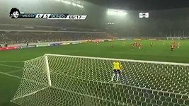 Nádherný gól v podání Brazilce Neymara.