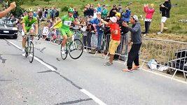 Sagan bavil diváky na Alpe d'Huez.