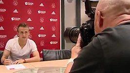 Slovák Lobotka při premiéře v Ajaxu nezvládl angličtinu