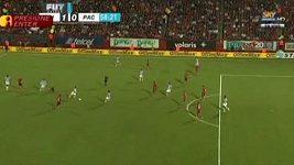 Rozhodčí neuznali gól Estrady.