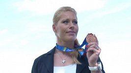Diskařka Věra Cechlová se dočkala bronzové medaile